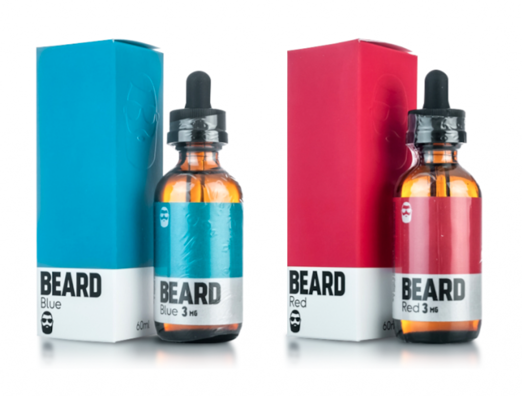 beard vape colors