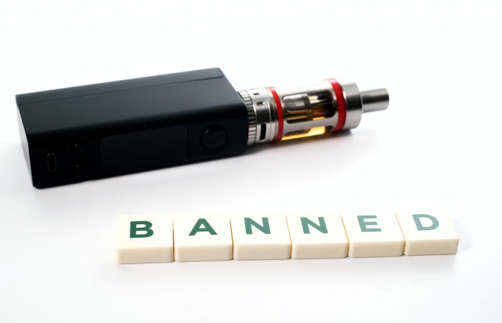 vaping in public ban