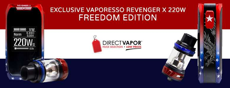 Exclusive Vaporesso Revenger X 220W - Freedom Edition - DIRECTVAPOR