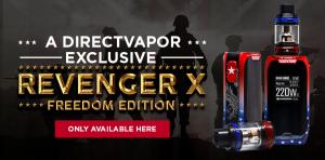 Vaporesso Revenger X Freedom Edition 220W Vape Starter Kit - DIRECTVAPOR
