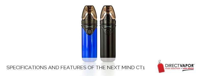 Specifications and Features of the Next Mind CT1