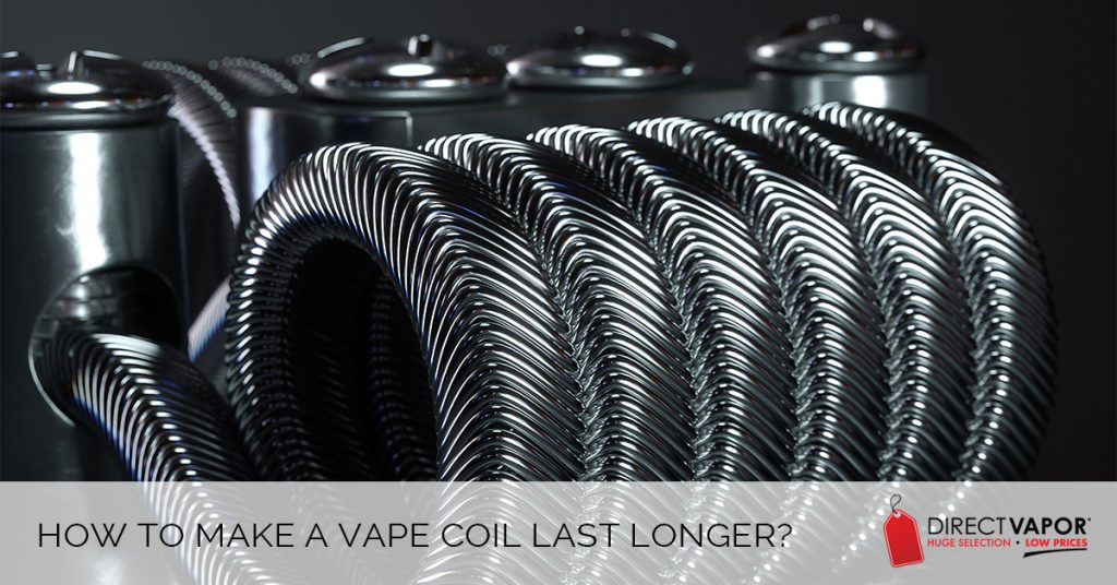 How to Make Vape Coils Last Longer