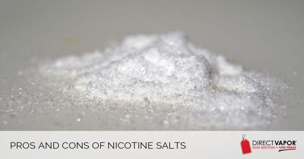 Pros & Cons of Nicotine Salts