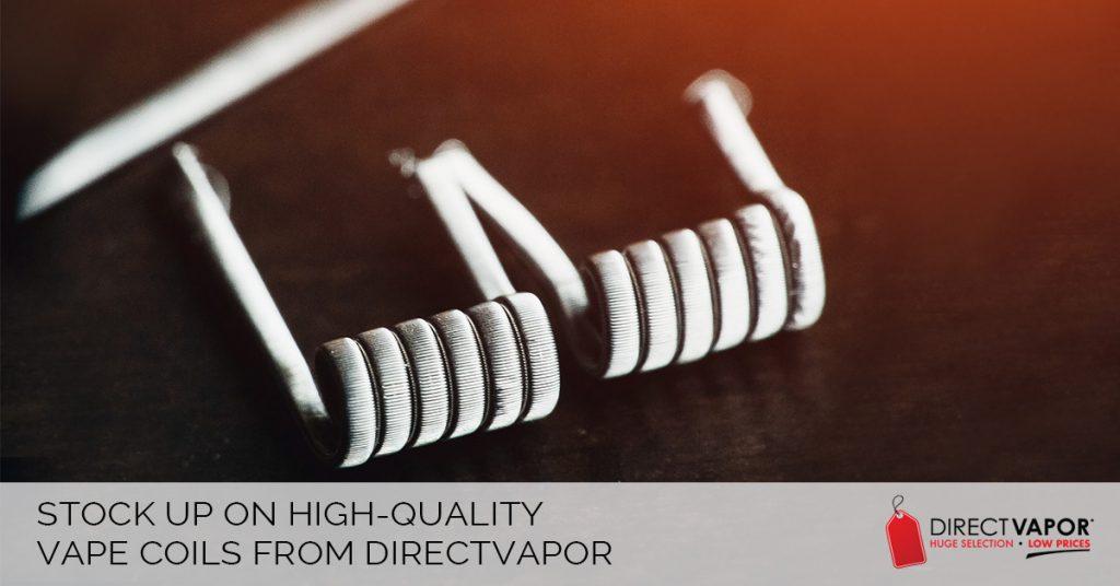 Buy Vape Coils at Direct Vapor