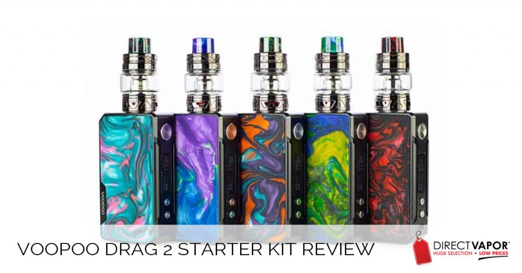 VooPoo Drag 2 Starter Kit Review