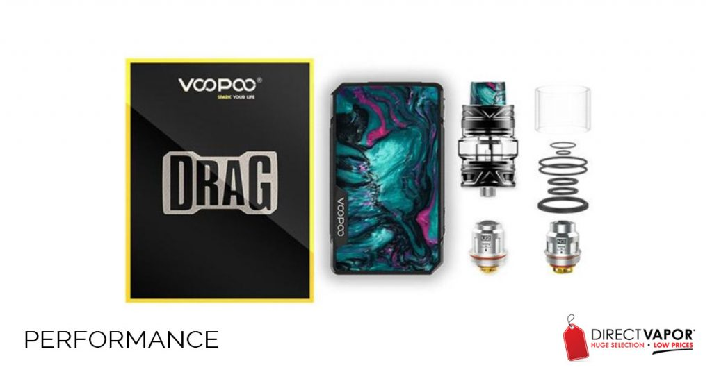 VooPoo Drag 2 Performance