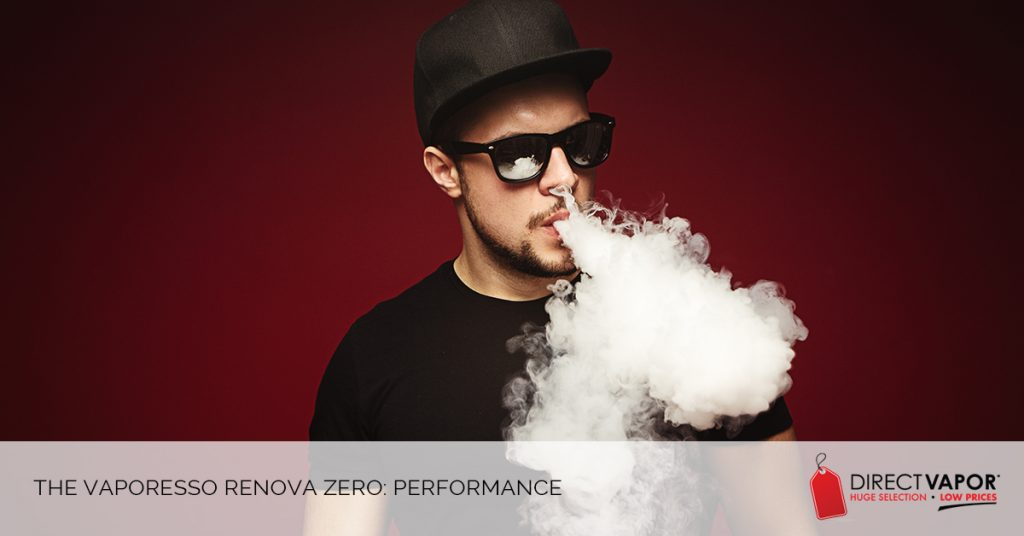 The Vaporesso Renova Zero Performance
