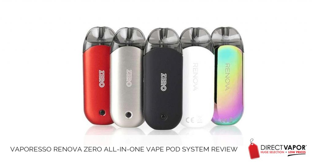 Vaporesso Renova Zero All-in-One Vape Pod System Review
