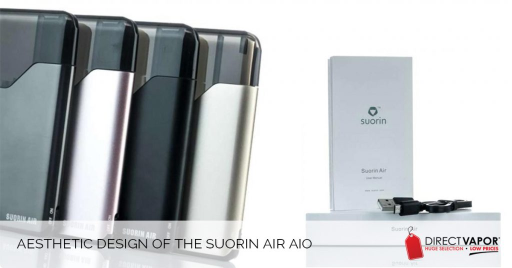 Aesthetic Design of the Suorin Air AIO
