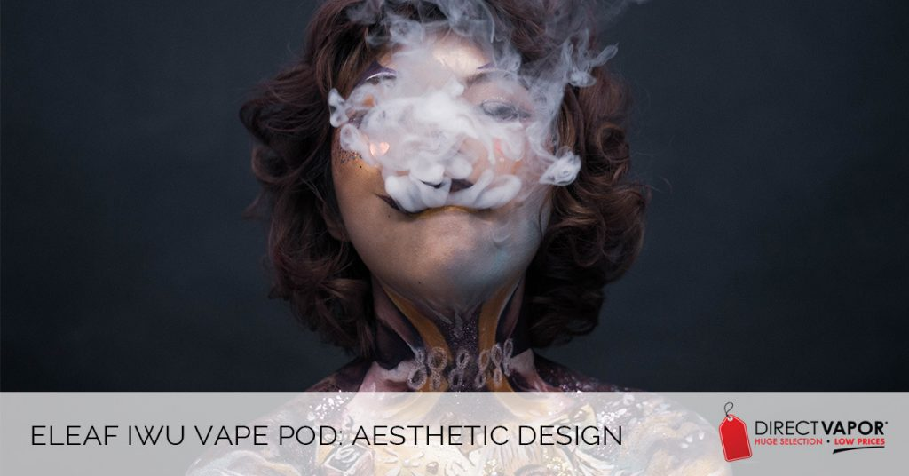 Eleaf iWu Vape Pod Aesthetic Design