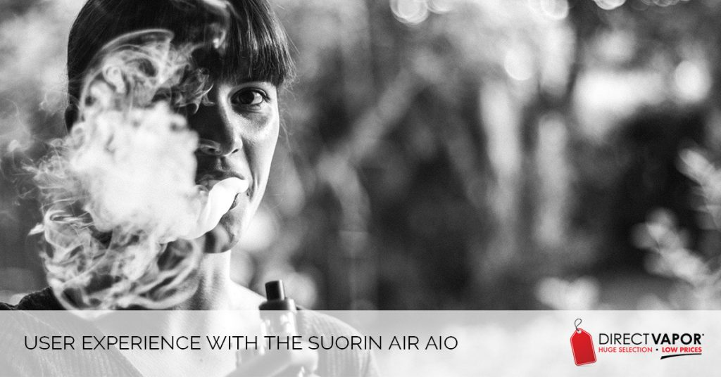 User Experience of the Suorin Air AIO