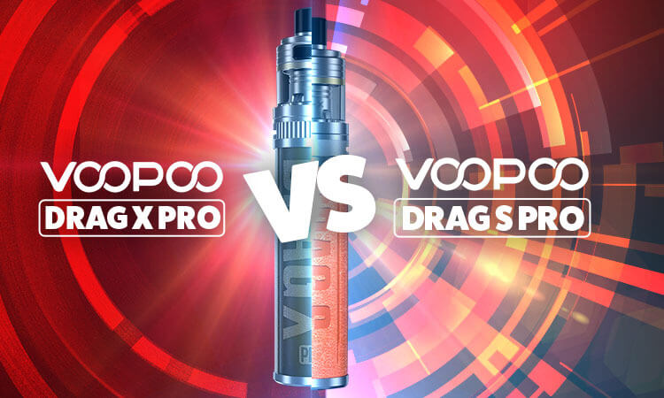 VooPoo Drag X vs. Drag S Review