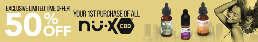 Nu-X CBD Vape Juice