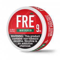 FRE NTN Pouches Wintergreen Can
