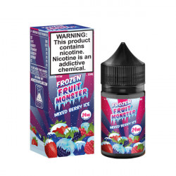 Mixed Berry Ice Nic Salt by Frozen Fruit Monster - (30mL)
