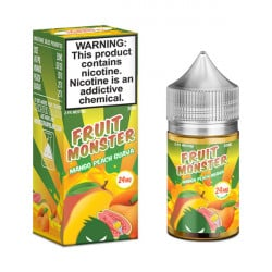 Mango Peach Guava Salt E-Liquid by Fruit Monster (30mL)