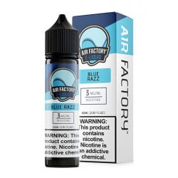 Air Factory Blue Razz E-liquid - (60mL)