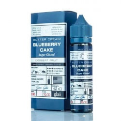 Glas Basix Blueberry Cake E-liquid (60mL)