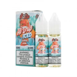 Guava Lava Iced By Hi Drip Salts - (2 Pack)