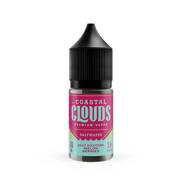 Melon Berries Nic Salt by Coastal Clouds- 30 mL