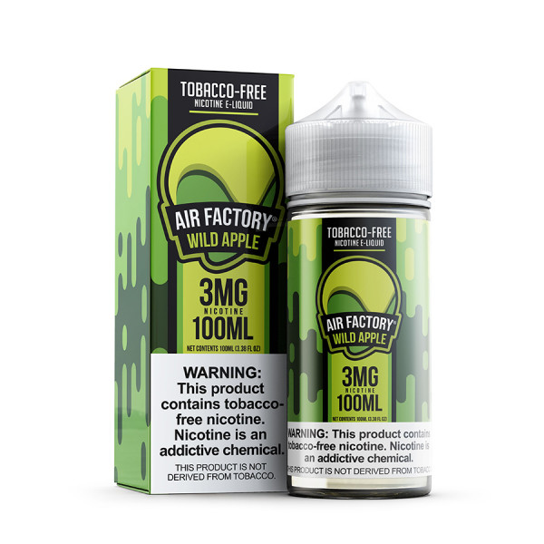 Synthetic Wild Apple by Air Factory E-liquids - (100mL)