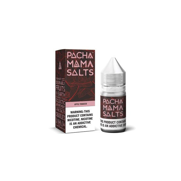 Apple Tobacco Salts by Pachamama (30mL)