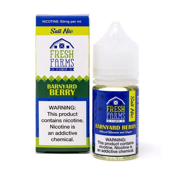 Barnyard Berry Salt E-Liquid by Fresh Farm (30mL)