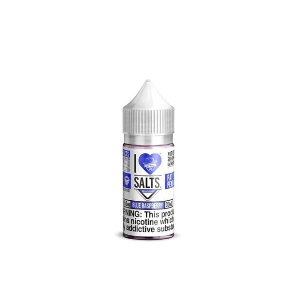 Blue Raspberry E-Liquid by I Love Salts (30mL)