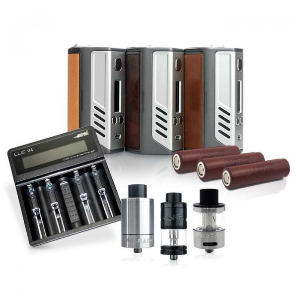 Lost Vape Triade Triple Vape Starter Kit Bundle