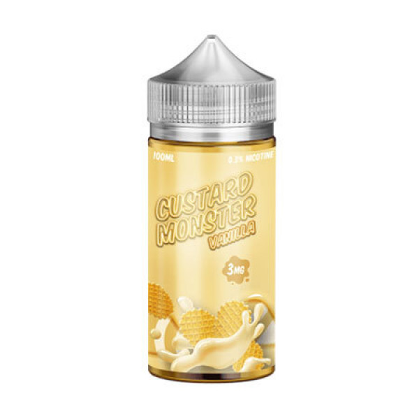 Vanilla Custard by Monster E-liquids - (100mL)