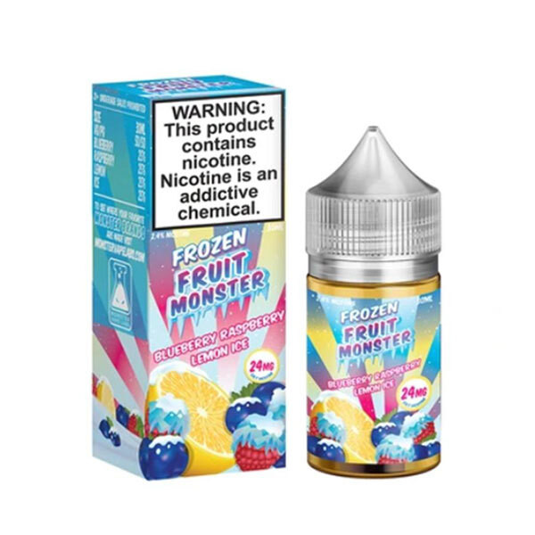 Blueberry Raspberry Lemon Ice Nic Salt by Frozen Fruit Monster - (30mL)