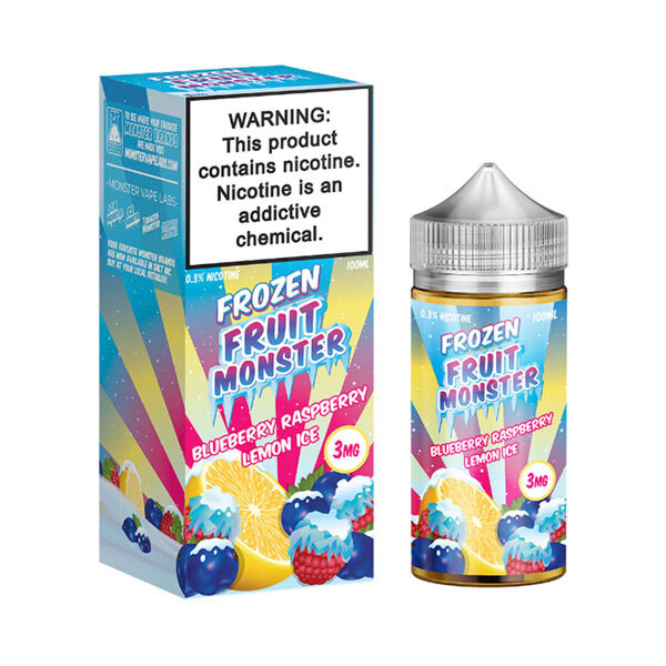 Blueberry Raspberry Lemon Ice E-liquid by Frozen Fruit Monster - (100mL)