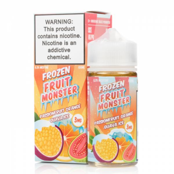 Frozen Passionfruit Orange Guava by Fruit Monster E-Liquids - (100mL)