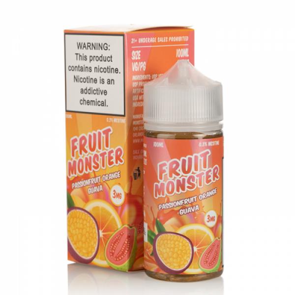 Passionfruit Orange Guava by Fruit Monster E-Liquids - (100mL)