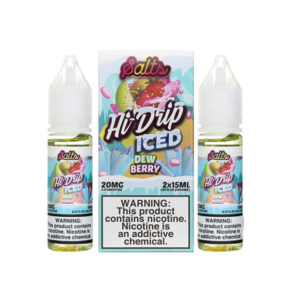 Dew Berry Iced By Hi Drip Salts - (2 Pack)