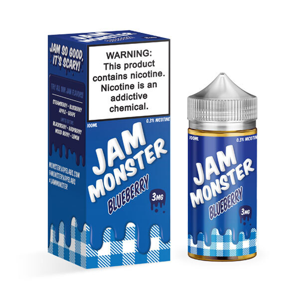 Schedule Product Jam Monster Blueberry E-liquid (100mL)