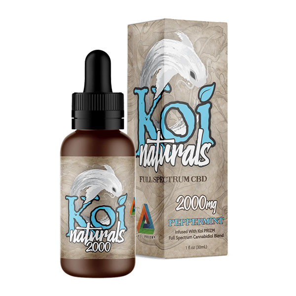 KOI Naturals Tinctures Peppermint - 30mL - 2000mg (CBD)