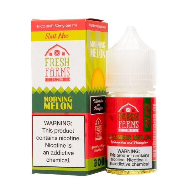 Morning Melon Salt E-Liquid by Fresh Farm (30mL)