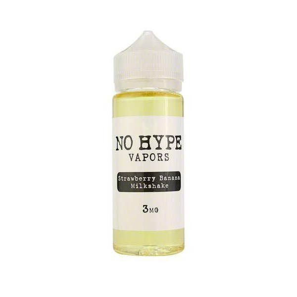 Strawberry Banana Milkshake by No Hype E-Liquid (120mL)