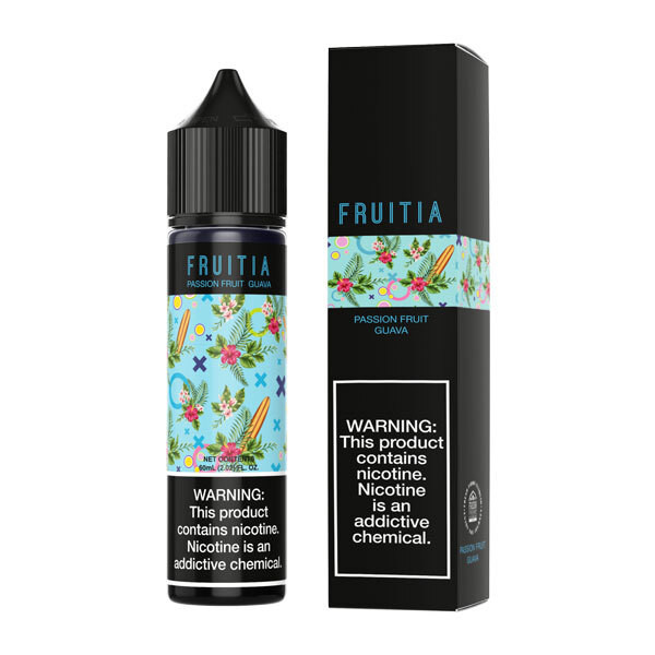 Passionfruit Guava by Fruitia Fresh Farms - (60mL)
