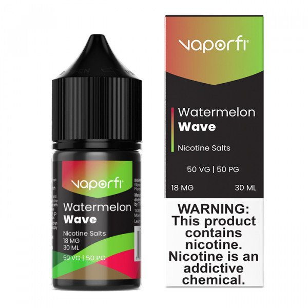 VaporFi Watermelon Wave Nic Salts (30mL)