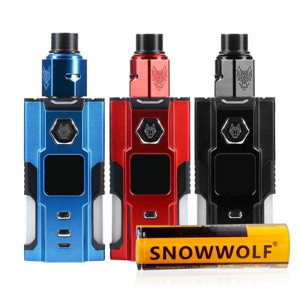 SnowWolf VFeng BF 120W Squonk Vape Starter Kit