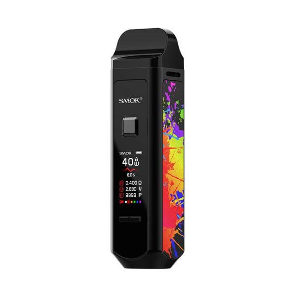 Smok RPM 40 Vape Pod Starter Kit_Black/7-Color
