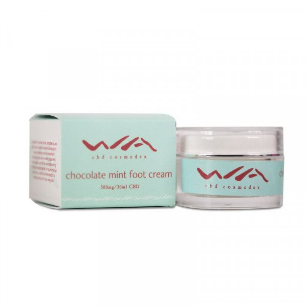 WA Chocolate Mint CBD Foot Cream (500mg)