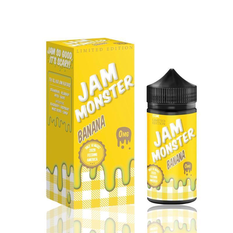 Banana by Jam Monster E-liquids - (100 mL) | Directvapor
