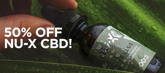 50% Off Nu-X CBD