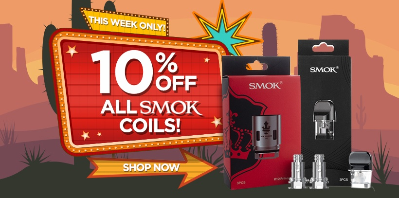 10% off SMOK Coils Deal of the Week