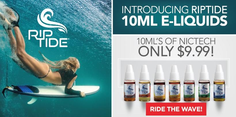 RipTide 10mL E-Liquids