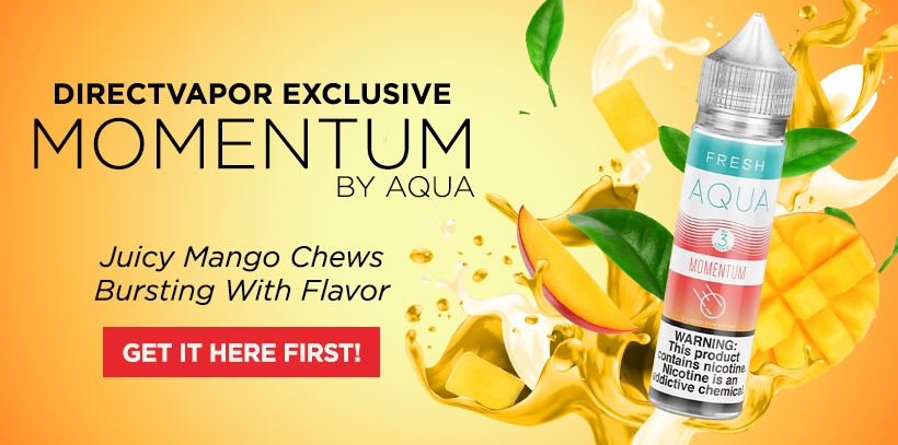 momentum by aqua e-liquid